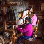 ...Huilliche Frauen aus Chiloe beherrschen diese Webtechnik...
