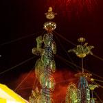 Fiesta im Nachbarort mit ganz besonderem Feuerwerk....