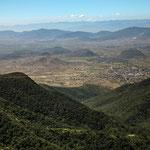 "Blick ins Tal ""Valle de Tlacolula"""