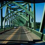 Brücke über den Umqua River