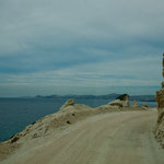 Die Fahrt entlang der Küste nach San Jose del Cabo ist wunderschön.....