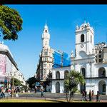 """Der """"Plaza de Mayo"""" im Zentrum mit Regierungssitz..."""