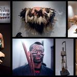 ...es hat eine imposante indigene Ausstellung...