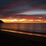 und der wohl spektakulärste Sonnenaufgang den wir jemals gesehen haben.