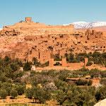 ...Ait-Benhaddou - UNESCO Weltkulturerbe und Kulisse vieler Filme...
