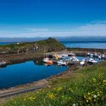 sobald die Sonne scheint präsentiert Island die schönsten Farben