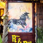 Unser neues Restaurant (Rita & Rudi) in Juayua.....