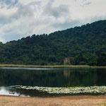 """....hier der Kratersee """"Laguna Verde""""...."""