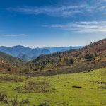 ...mit wunderschönen Blick auf die Pyrenäen.