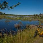 Radltour am Swiftcurrent Creek