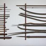 Pfeile der Indianer - wurden noch bei der Besiedelung um 1930 benutzt...