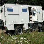 1. Testfahrt nach Polen 2007