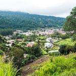 """Boquete liegt im """"Rio Caldera Tal"""" auf 1.000 m Höhe....."""