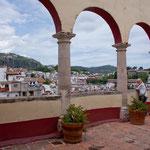 Blick vom Casa Humboldt auf die Stadt