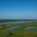 ...der Fluss ist einer der schönsten in Paraguay...