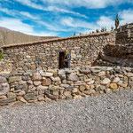 ...die orginalgetreuen Nachbauten der Inkagebäude...