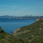 Die Strecke Alghero nach Bosa entlang der Küste...
