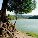 Und hier die kleine aber schöne Laguna Santa Maria