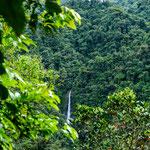 ....ein Wasserfall oberhalb des Rio Machos.....