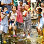 ....viele Seen zur Freude der Kinder.....