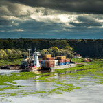 ...das Überschwemmungsgebiet des Rio Parana...