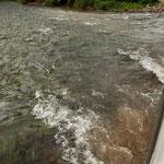 ....und wieder durch den Fluss.....