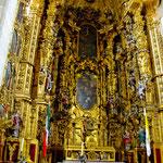die riesige Kathedrale ist auch innen ein Schmuckstück