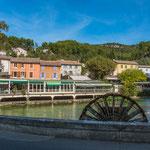 Schon seit ewigen Zeiten wird das Wasser der Vaucluse als Antriebskraft genutzt...