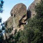die Wanderung selbst über Felsen und extrem steile Pfade war sehr anstrengend