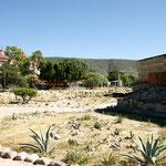 Wie so oft haben die Spanier eine Kirche auf dem Heiligtümern der Indianer gebaut