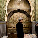 ...prächtige Tore in Moscheen oder Paläste...