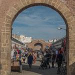 ...Eingang in die Medina...