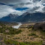 ...Chile hat unglaublich viele große Flüsse...