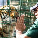 """...die Tigermutter der Mischlinge mit unserem """"Guide""""..."""