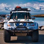 ...Isländer sind Pick-up verliebt und die Angel ist noch größer als das größte Auto...