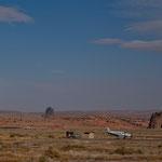 Miniflughafen im Navajo Gebiet