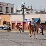 """Mitten in der Stadt gibt es noch """"gauchos"""""""