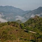"Die wunderbare Gebirgslandschaft der ""Sierra Norte de Chiapas"""