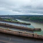Ein Blick auf den Staudamm...