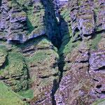 ...geschaffen durch schmelzendes Gletscherwasser über Jahrmillionen...