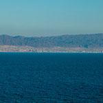 ...Blick von San Juan auf Antofagasta...
