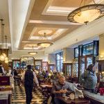 ...die vielen Italiener in Buenos Aires haben eine tolle Cafe-Kultur geschaffen...
