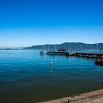 Sao Francisco liegt wunderschön in einem Fjord...
