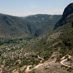 da unten im traumhaften Tal ist Santiago Apoala