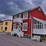 Die Häuser in Island sind einfach aber meistens sehr schön...