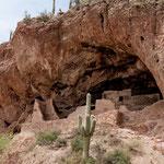 ....damals war das Pueblo nur über Leitern erreichbar...