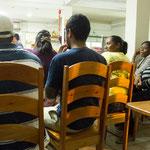 Wir waren mitten im Fussball Fieber: Belize gegen Honduras und ein begeistertes Publikum