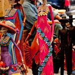 Christliche und indianische Kuluturelemente but vermischt
