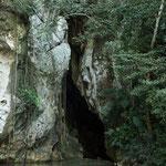 """....der schmale Eingang in die """"Unterwelt"""" der Mayas....."""