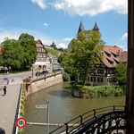 Blick auf die Kanäle und Altstadt
